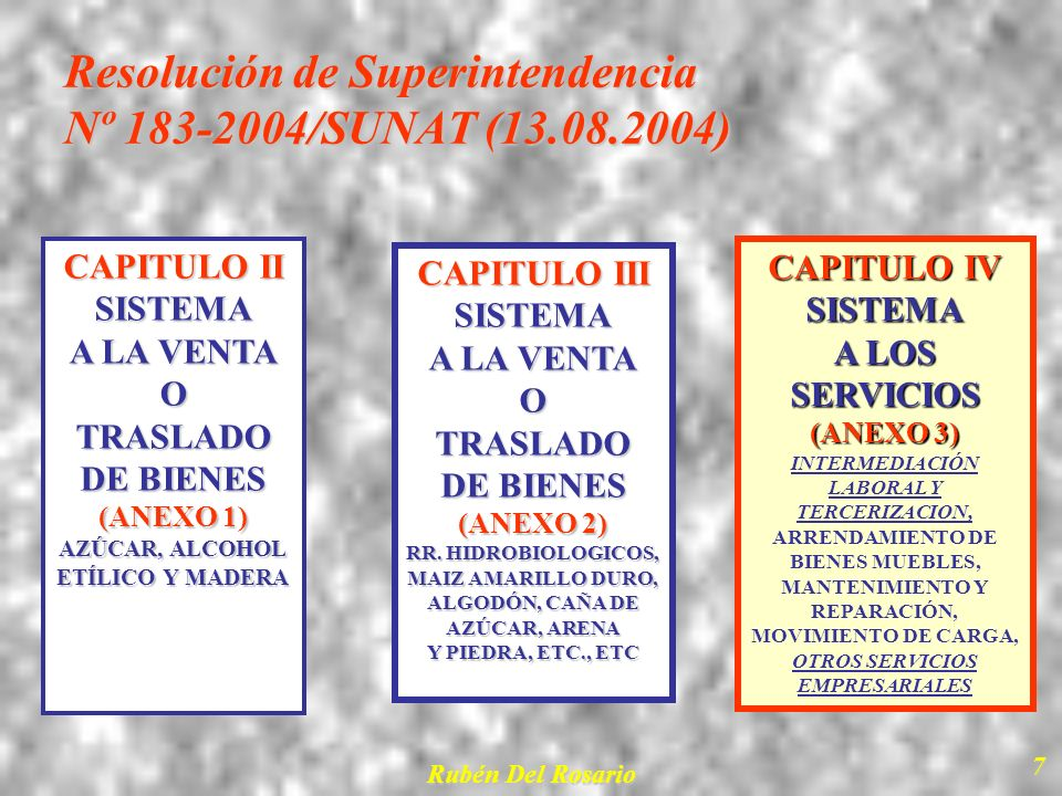 Resolución de Superintendencia Nº 183-2004/SUNAT (13.08.2004)