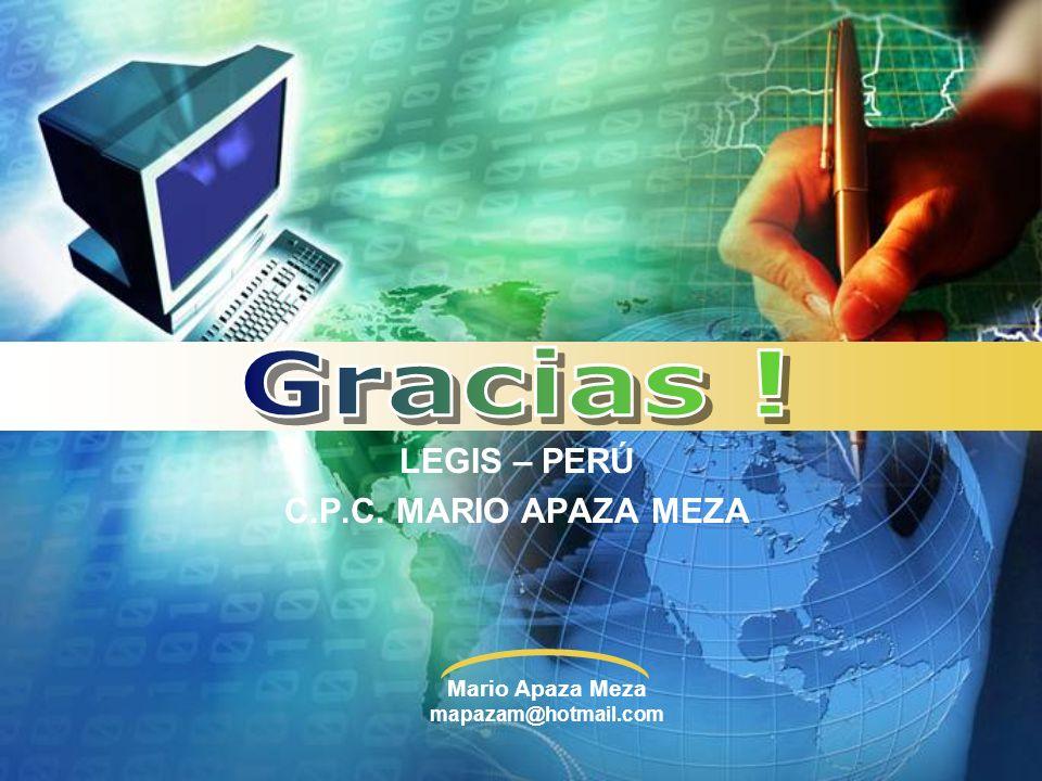 LEGIS – PERÚ C.P.C. MARIO APAZA MEZA