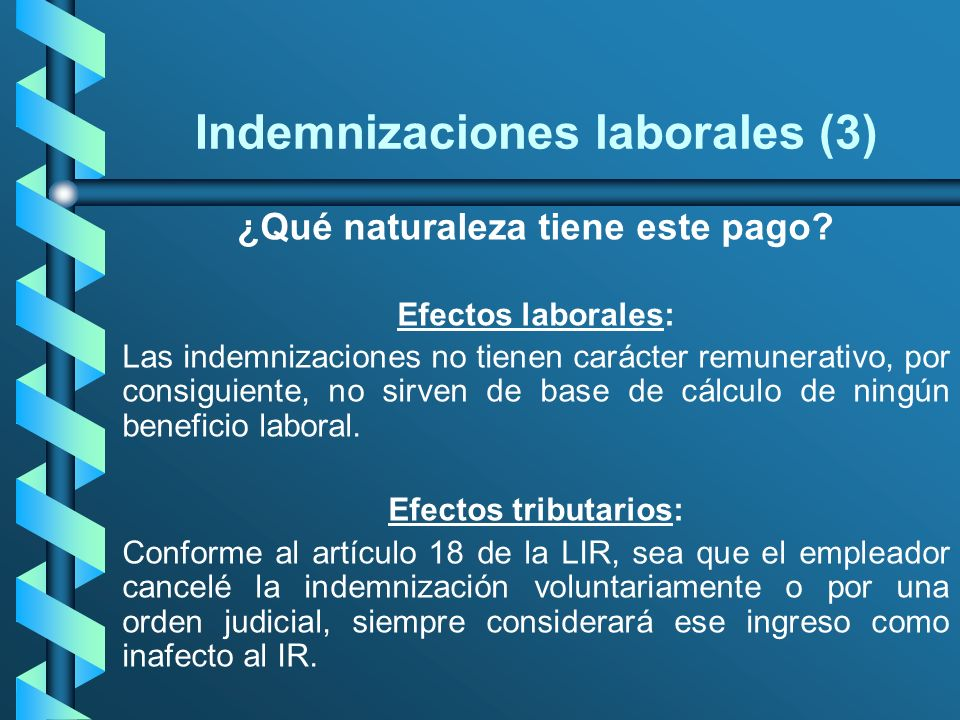 Indemnizaciones laborales (3)