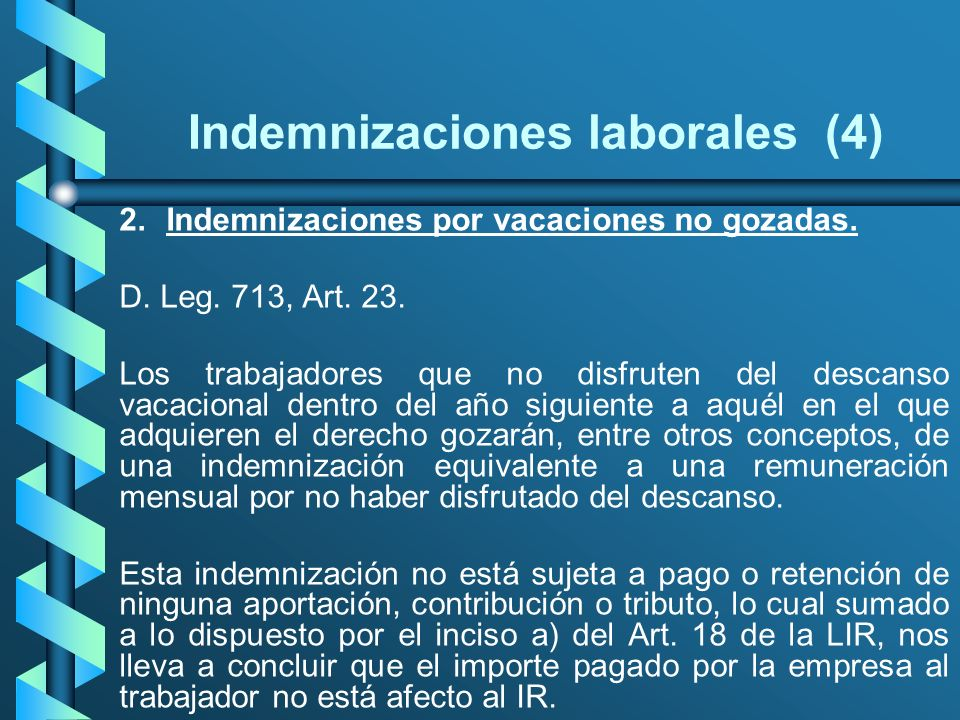 Indemnizaciones laborales (4)