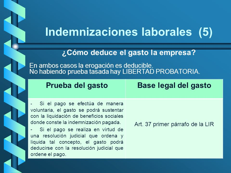 Indemnizaciones laborales (5)