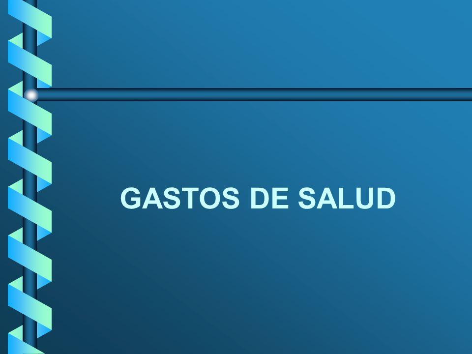 GASTOS DE SALUD