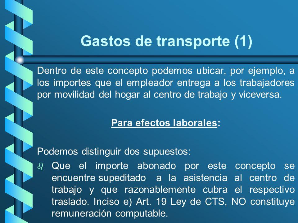 Gastos de transporte (1)