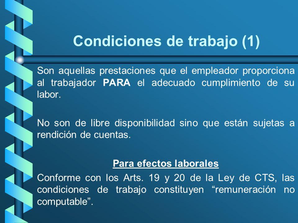 Condiciones de trabajo (1)