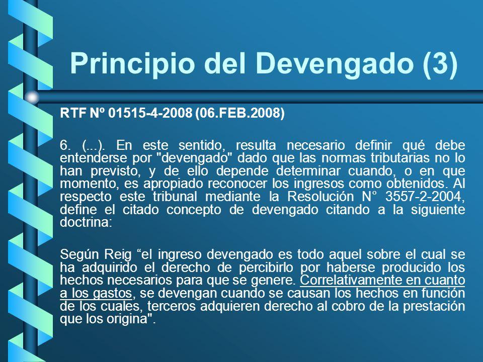 Principio del Devengado (3)