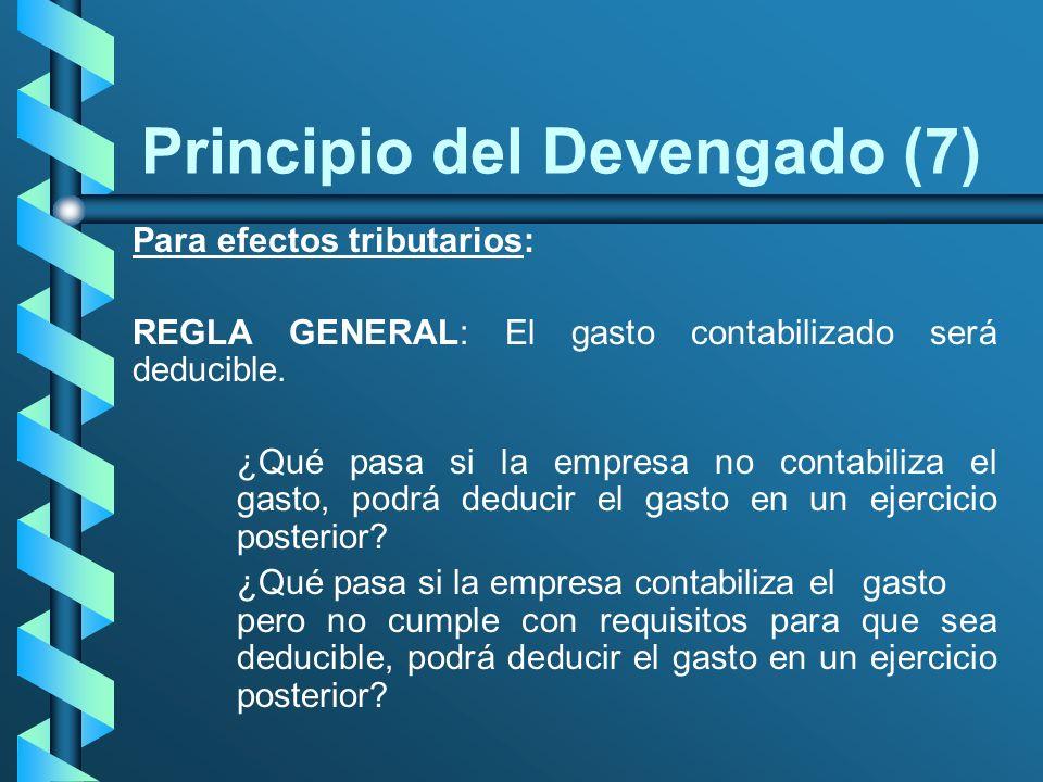 Principio del Devengado (7)