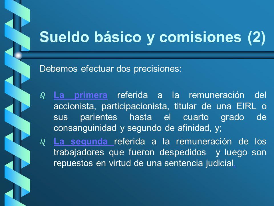 Sueldo básico y comisiones (2)