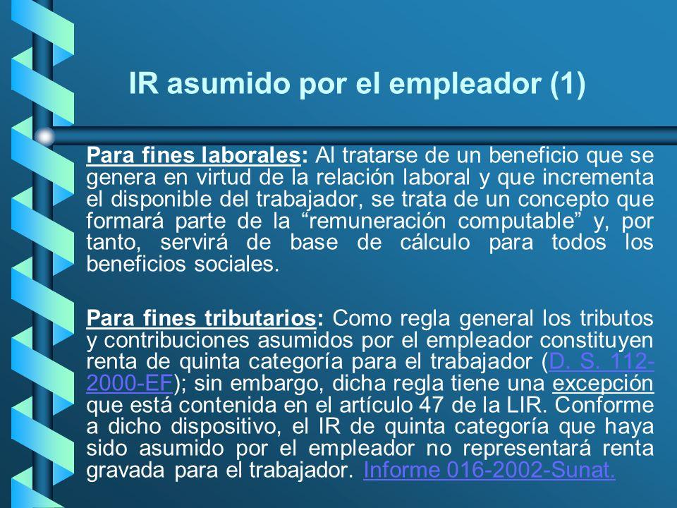 IR asumido por el empleador (1)