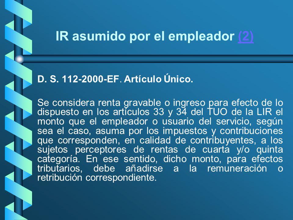 IR asumido por el empleador (2)