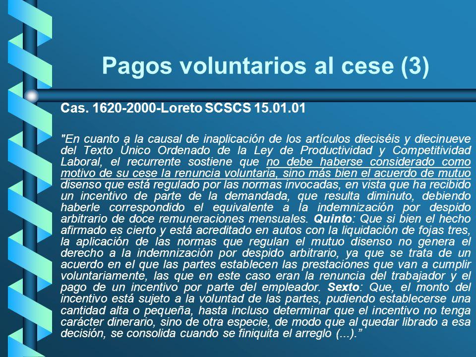 Pagos voluntarios al cese (3)