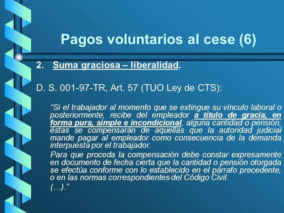 Pagos voluntarios al cese (6)