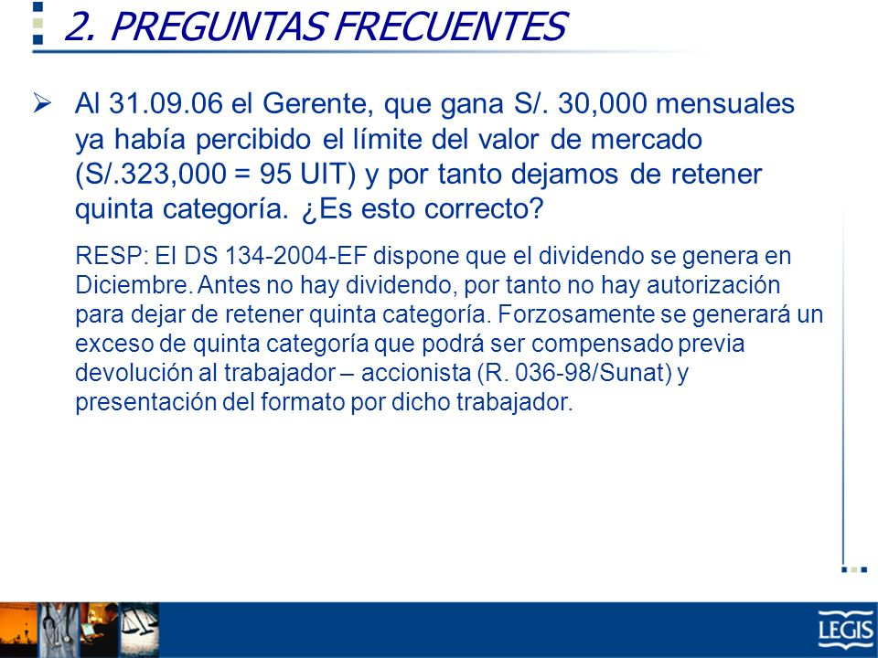 2. PREGUNTAS FRECUENTES