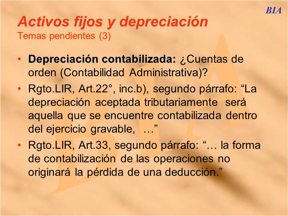 Activos fijos y depreciación Temas pendientes (3)