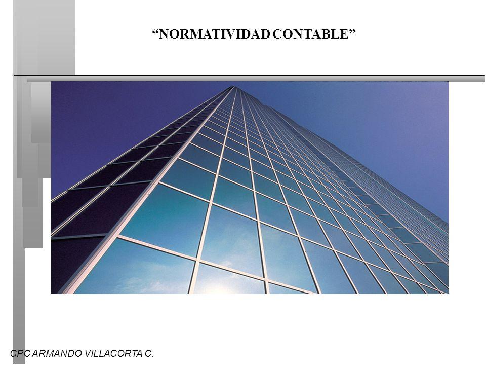 NORMATIVIDAD CONTABLE