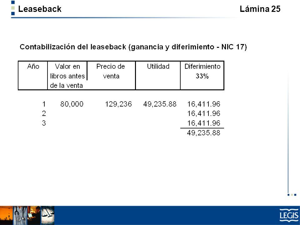 Leaseback Lámina 25