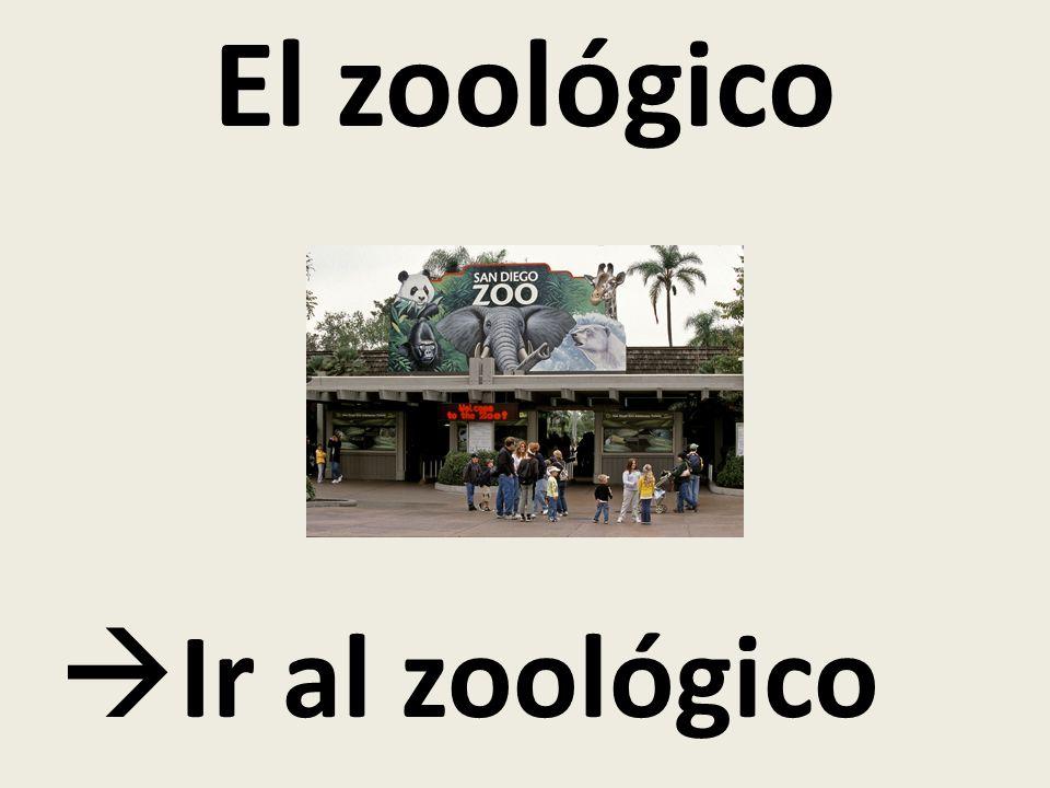El zoológico Ir al zoológico