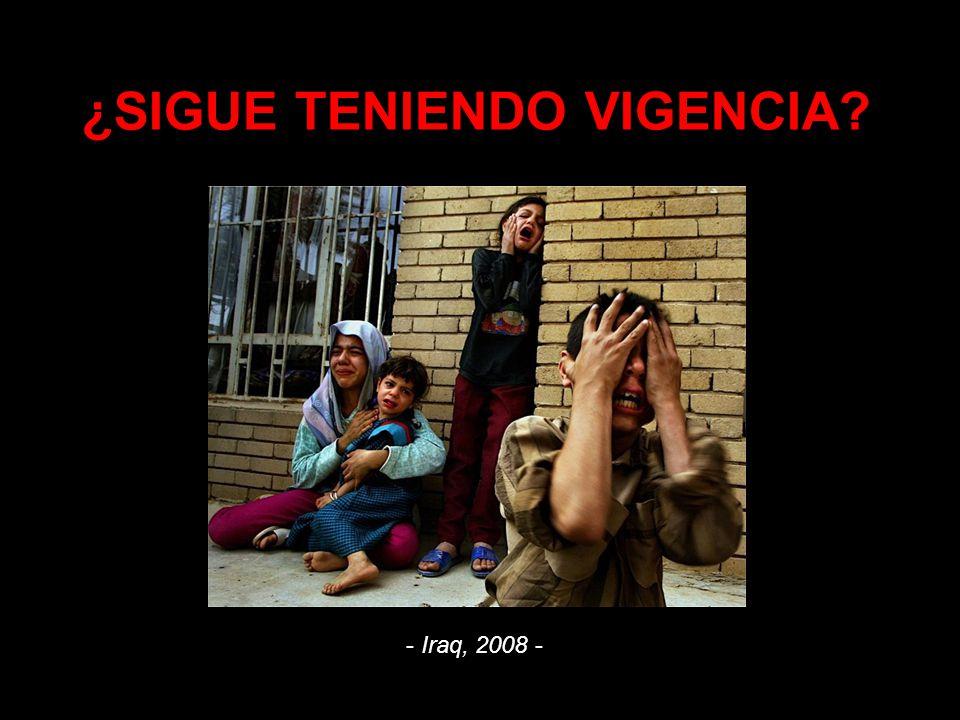¿SIGUE TENIENDO VIGENCIA