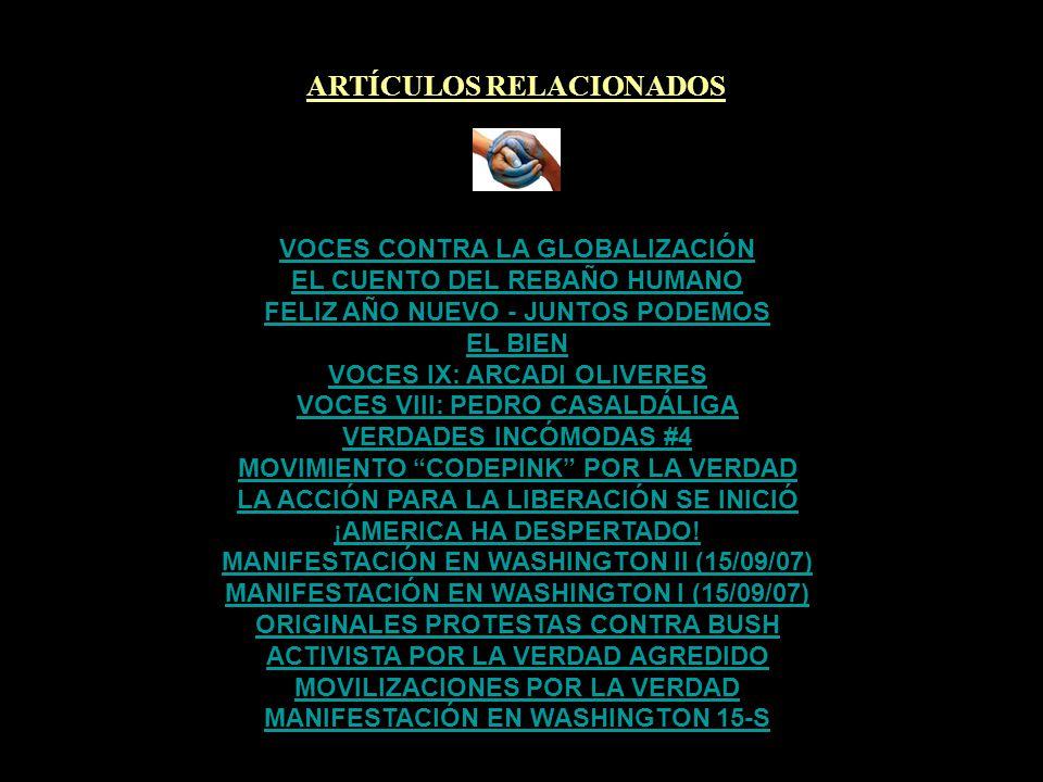 ARTÍCULOS RELACIONADOS MANIFESTACIÓN EN WASHINGTON 15-S