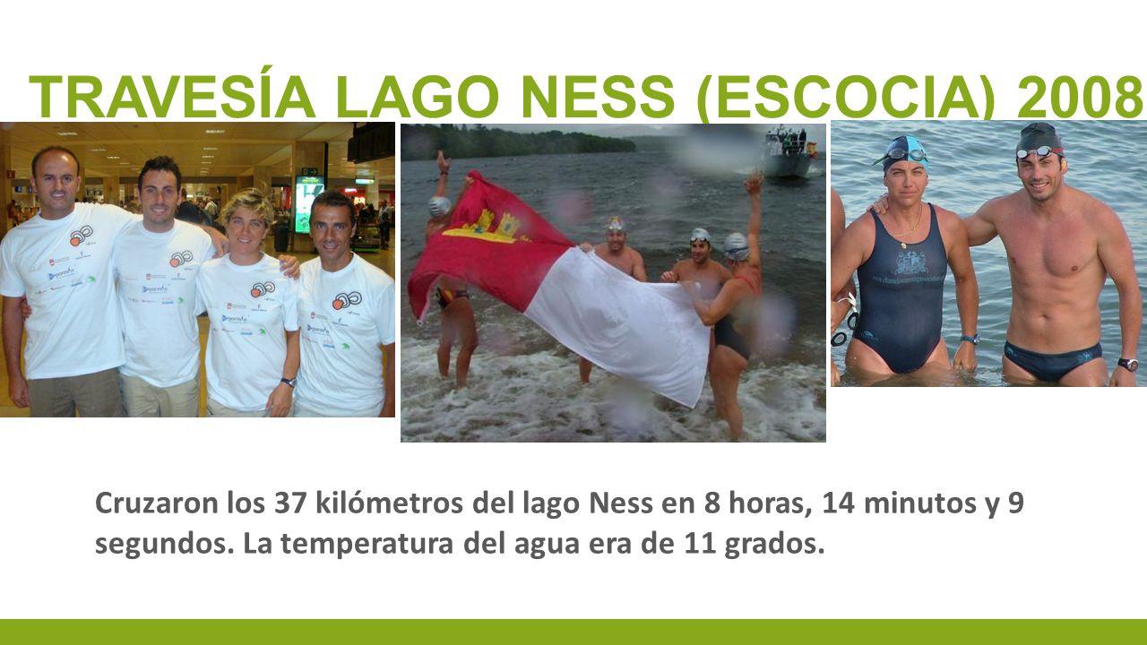 TRAVESÍA LAGO NESS (ESCOCIA) 2008
