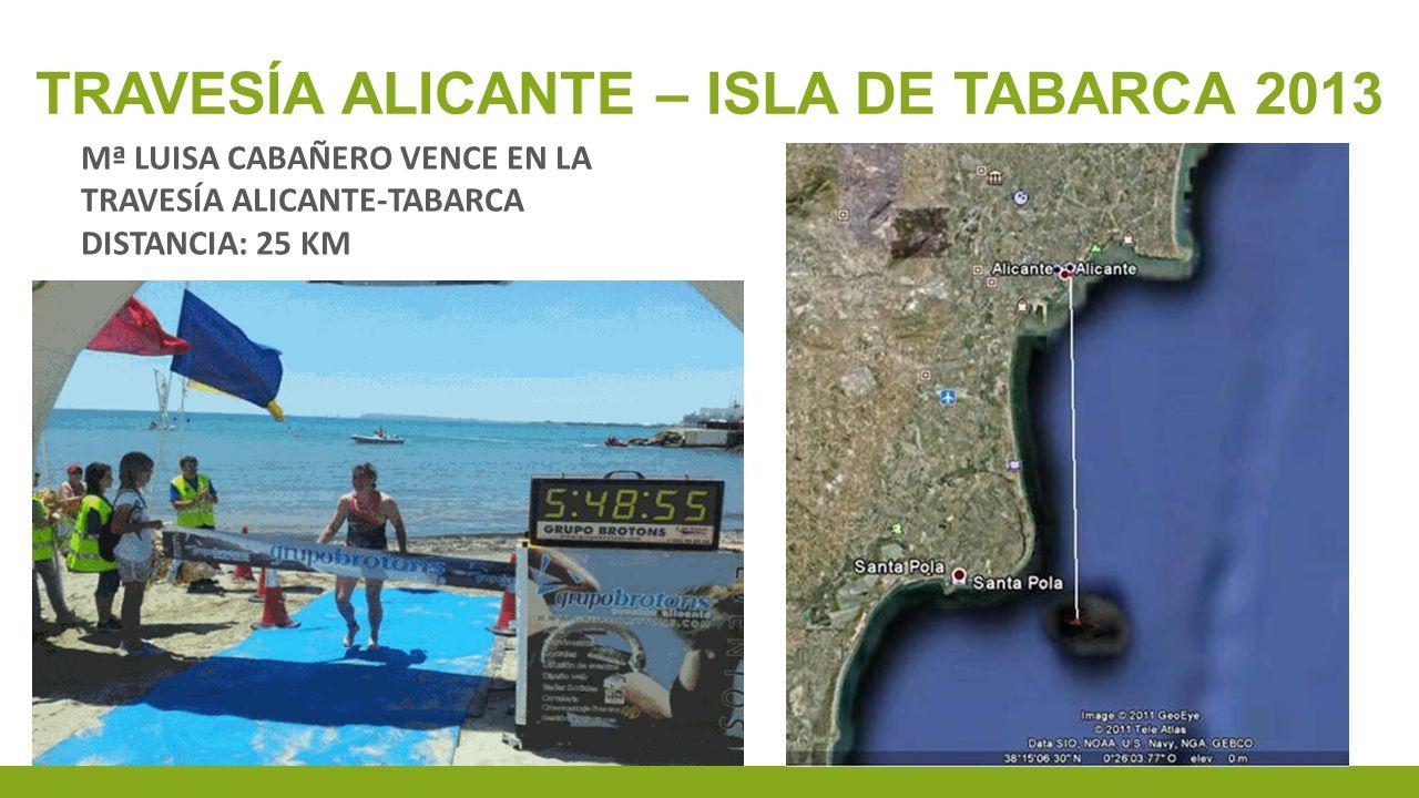 Travesía alicante – isla de tabarca 2013