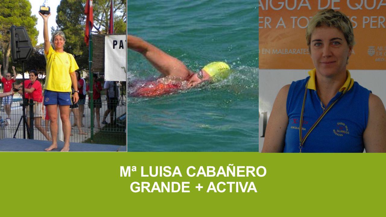 Mª LUISA CABAÑERO GRANDE + ACTIVA