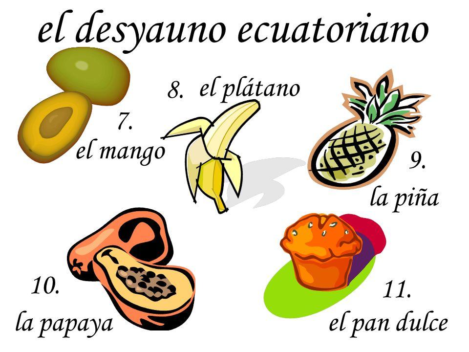 el desyauno ecuatoriano