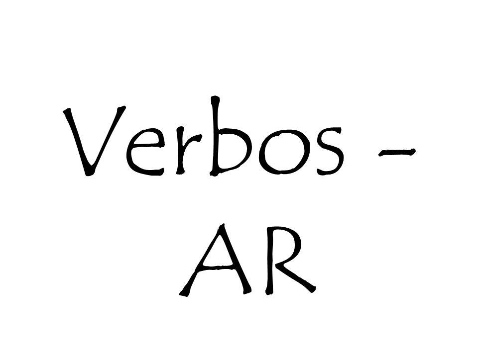 Verbos -AR