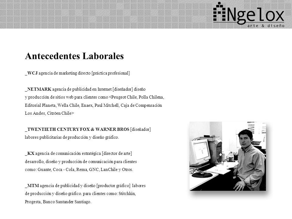 Antecedentes Laborales