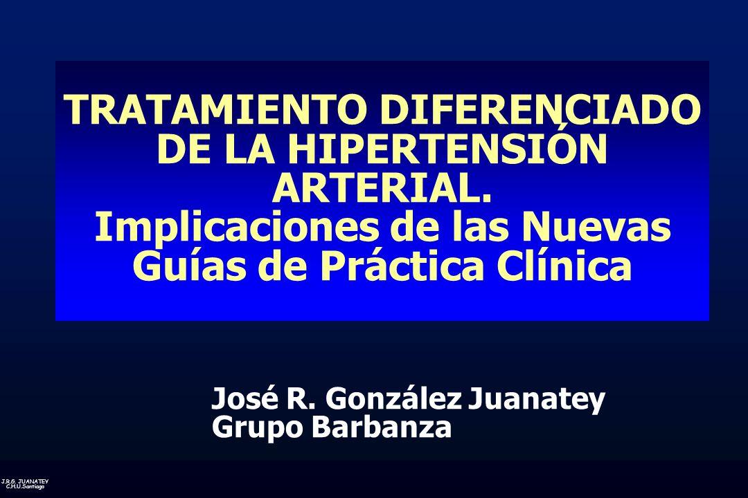 TRATAMIENTO DIFERENCIADO DE LA HIPERTENSIÓN ARTERIAL.