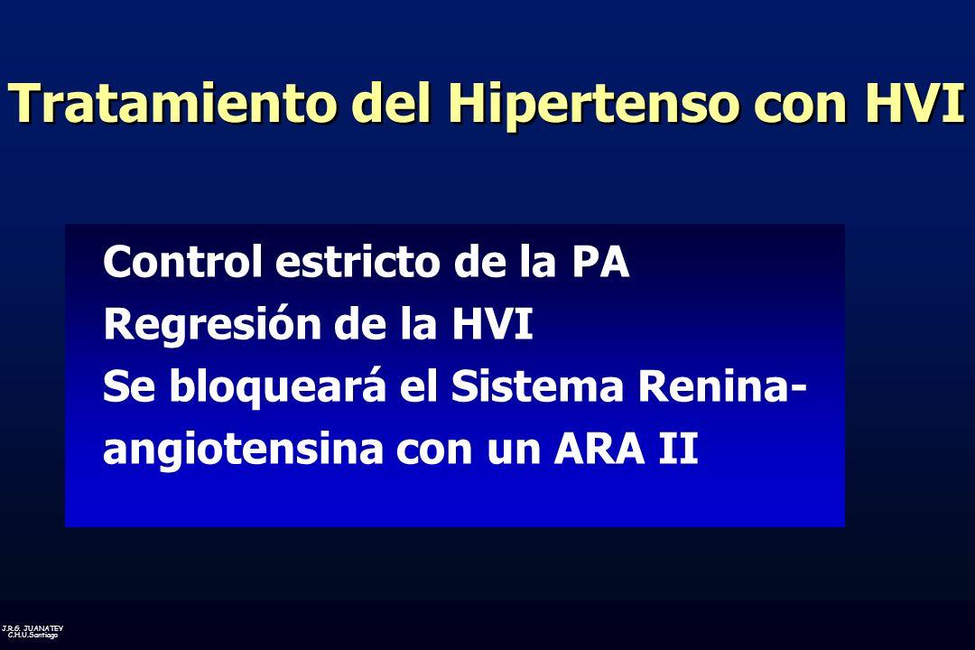 Tratamiento del Hipertenso con HVI