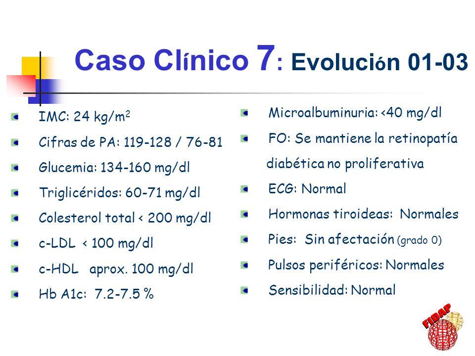 Caso Clínico 7: Evolución 01-03