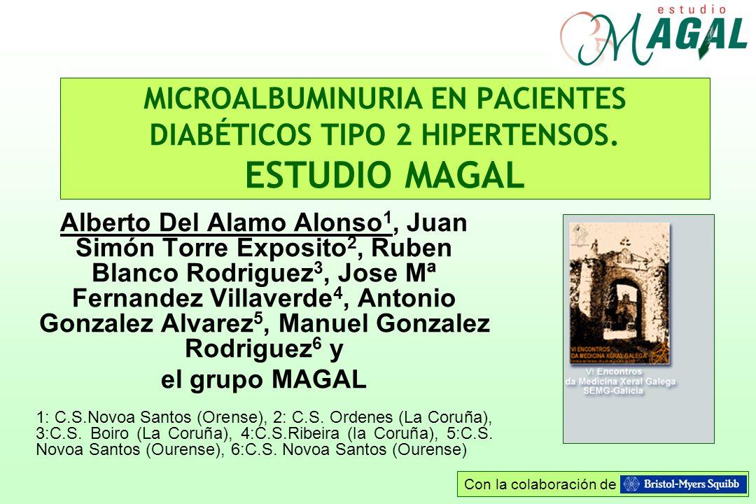 MICROALBUMINURIA EN PACIENTES DIABÉTICOS TIPO 2 HIPERTENSOS