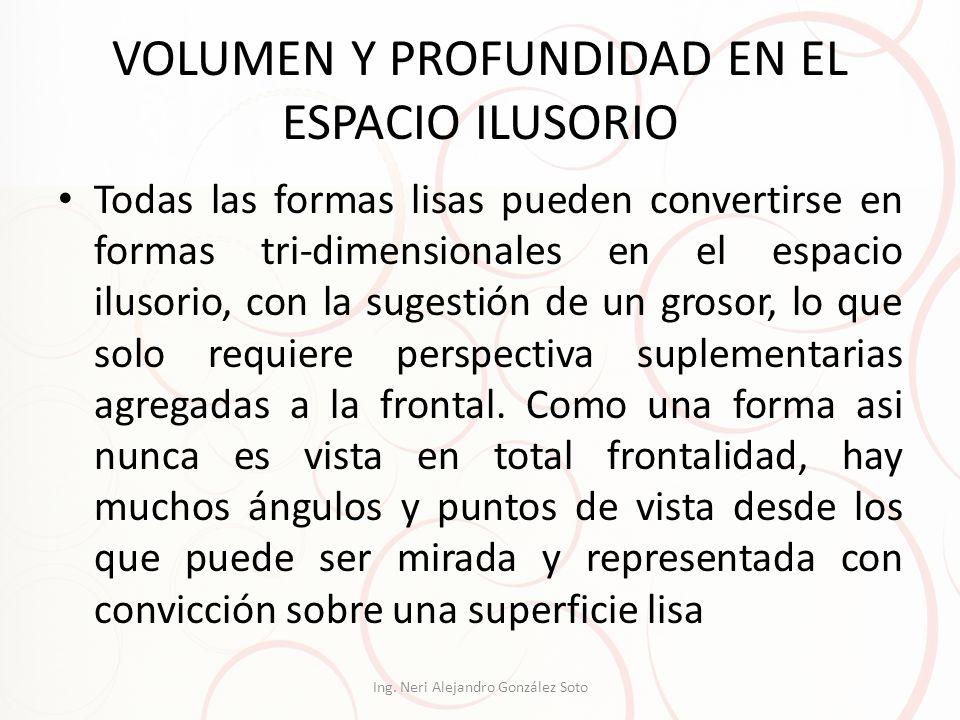 VOLUMEN Y PROFUNDIDAD EN EL ESPACIO ILUSORIO