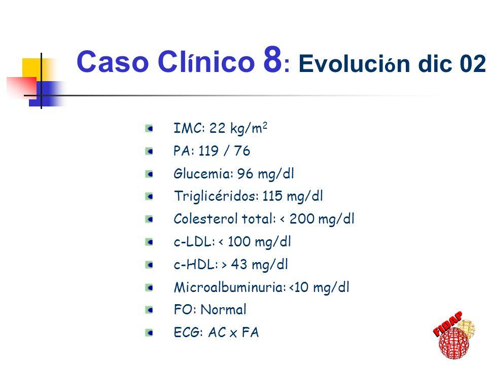 Caso Clínico 8: Evolución dic 02-03