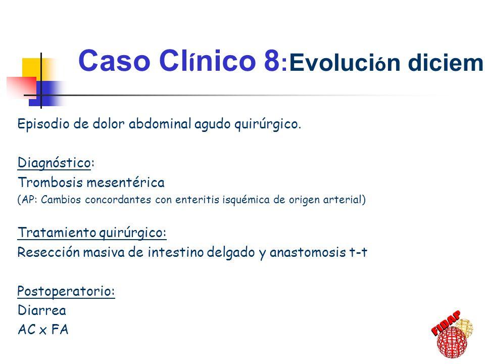 Caso Clínico 8:Evolución diciembre-01