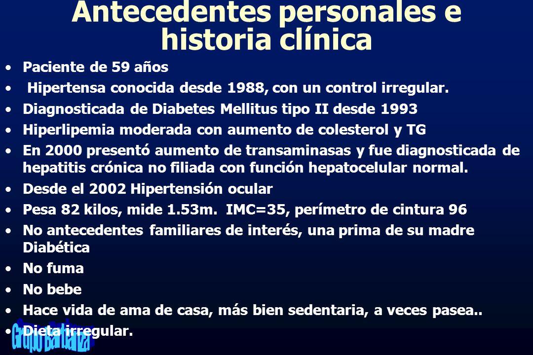 CASO CLÍNICO DE DIABETES y HTA - ppt video online descargar