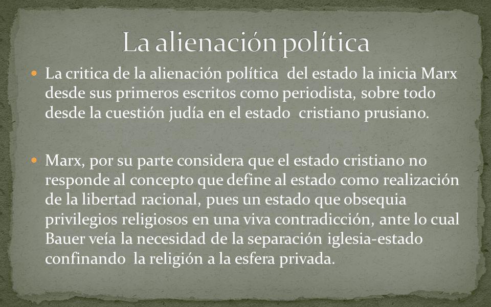 La alienación política