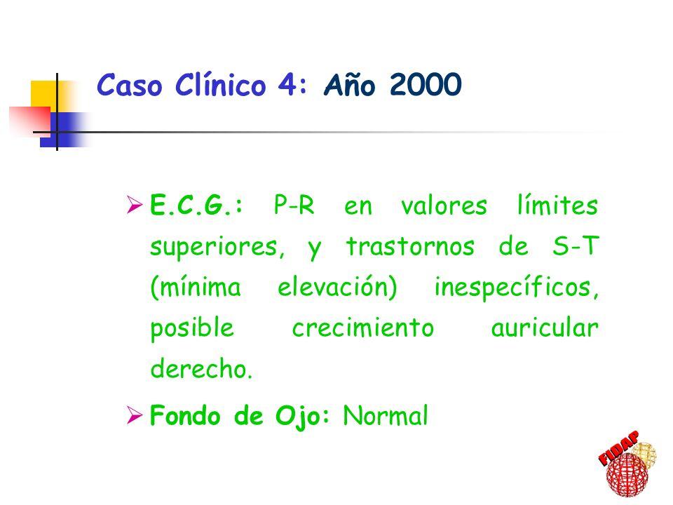 Caso Clínico 4: Año 2000