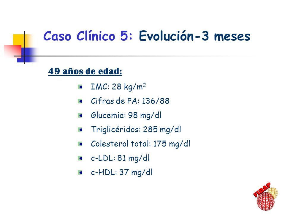 Caso Clínico 5: Evolución-3 meses