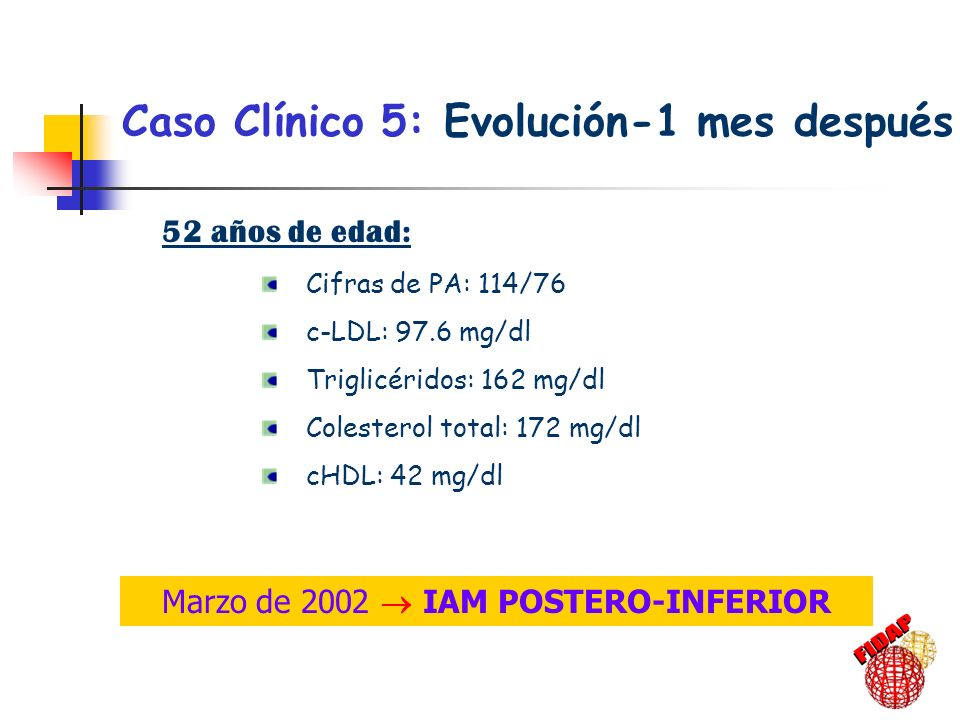 Marzo de 2002  IAM POSTERO-INFERIOR