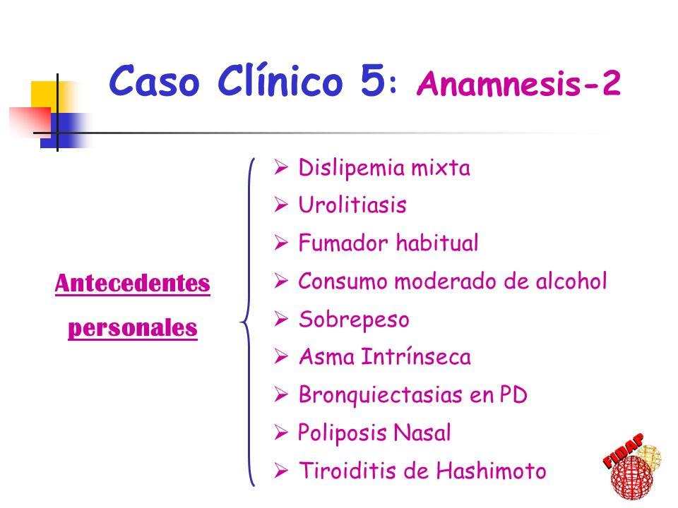 Caso Clínico 5: Anamnesis-2