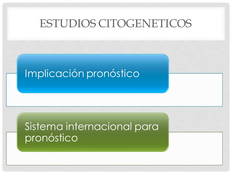 Estudios citogeneticos