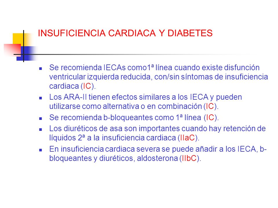 INSUFICIENCIA CARDIACA Y DIABETES