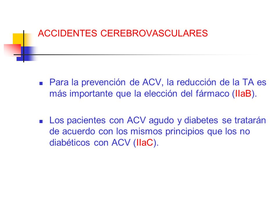 ACCIDENTES CEREBROVASCULARES