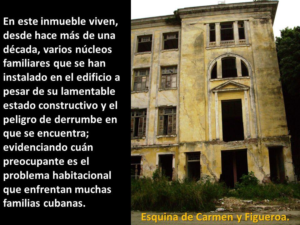 Esquina de Carmen y Figueroa.