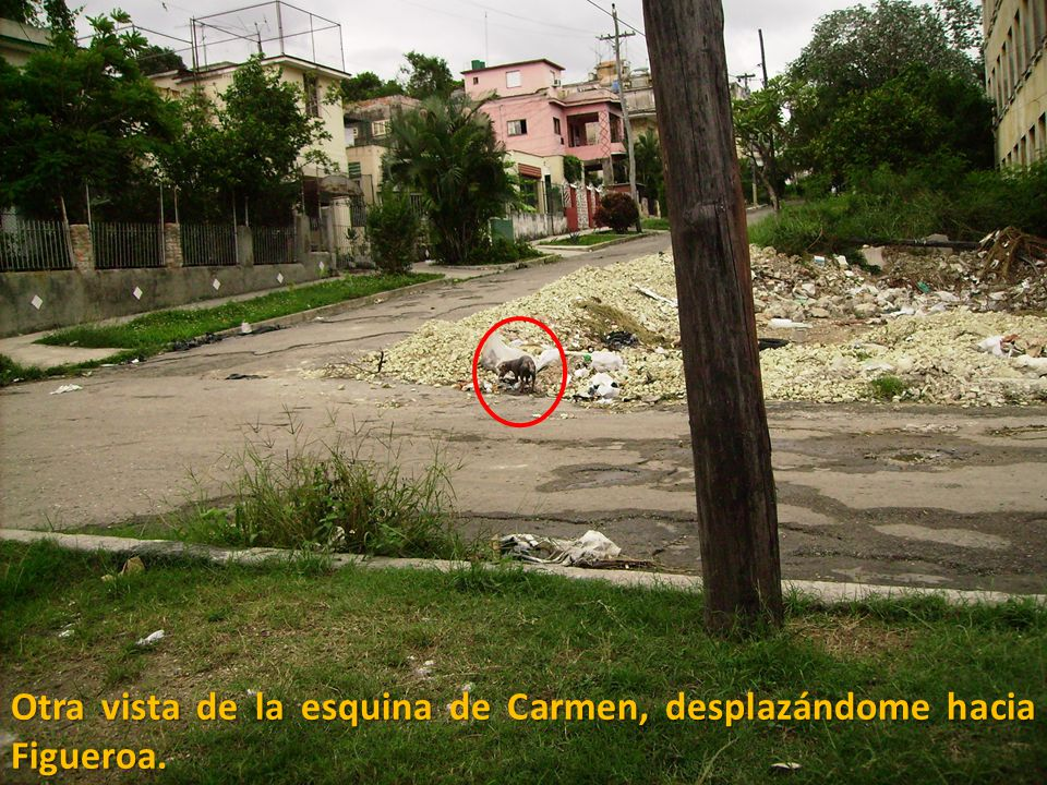 Otra vista de la esquina de Carmen, desplazándome hacia Figueroa.