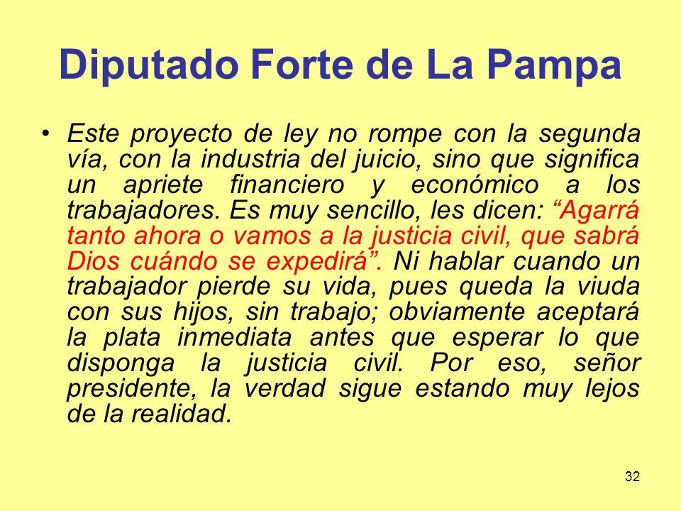 Diputado Forte de La Pampa