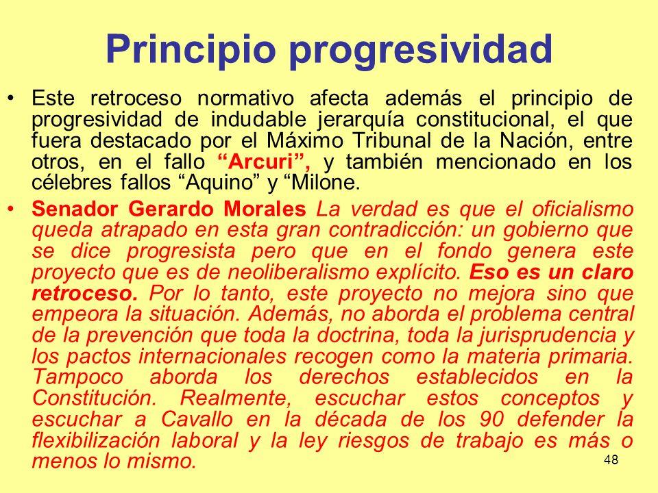 Principio progresividad