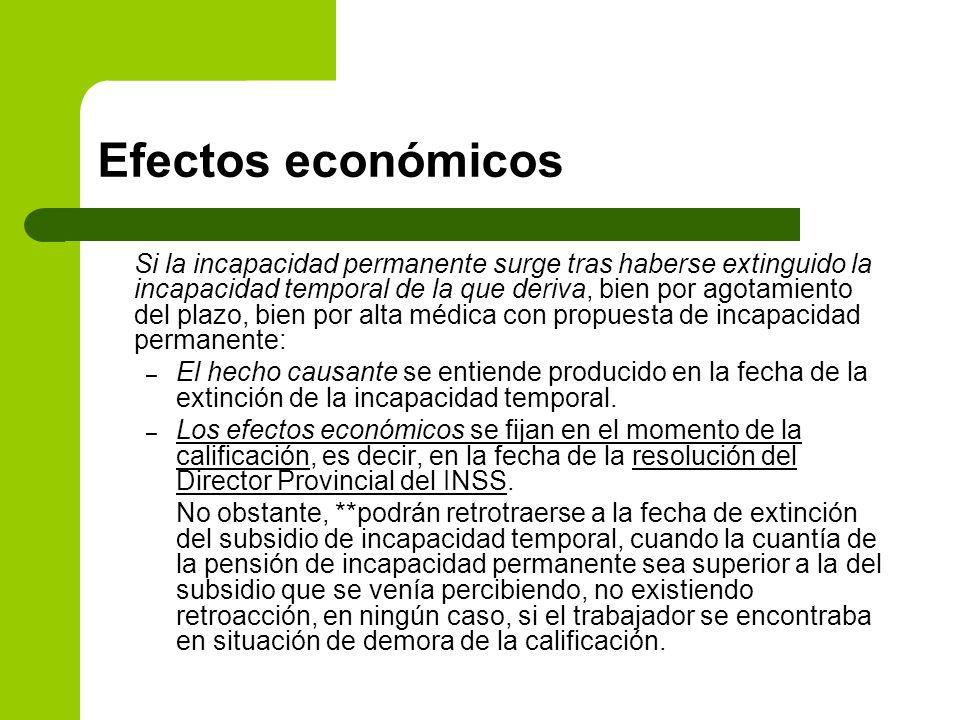 Efectos económicos