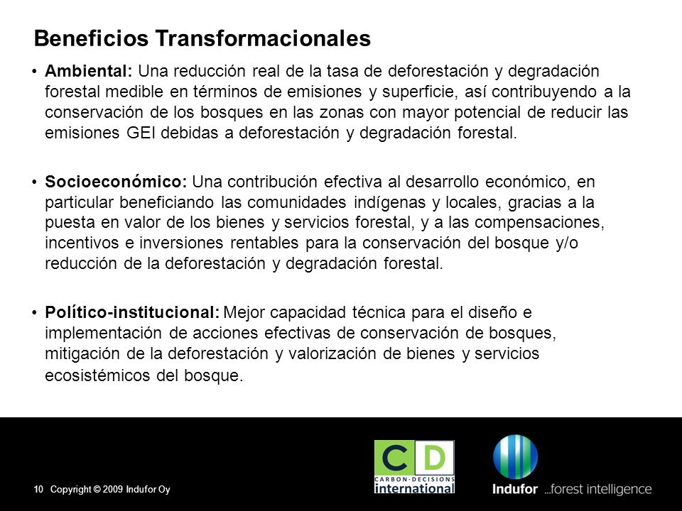 Beneficios Transformacionales